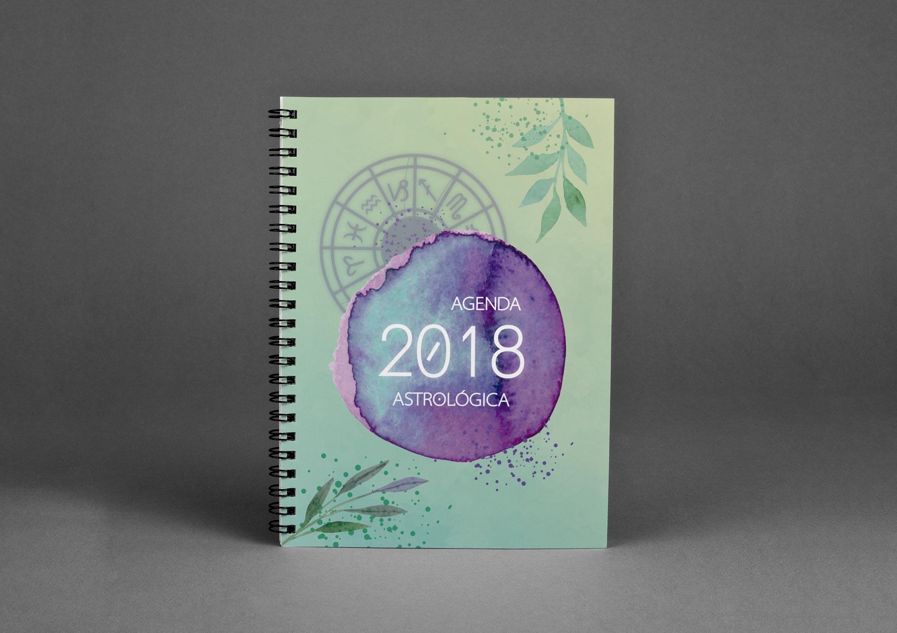 Agenda Astrológica - portfolio d-sign Ana Cláudia