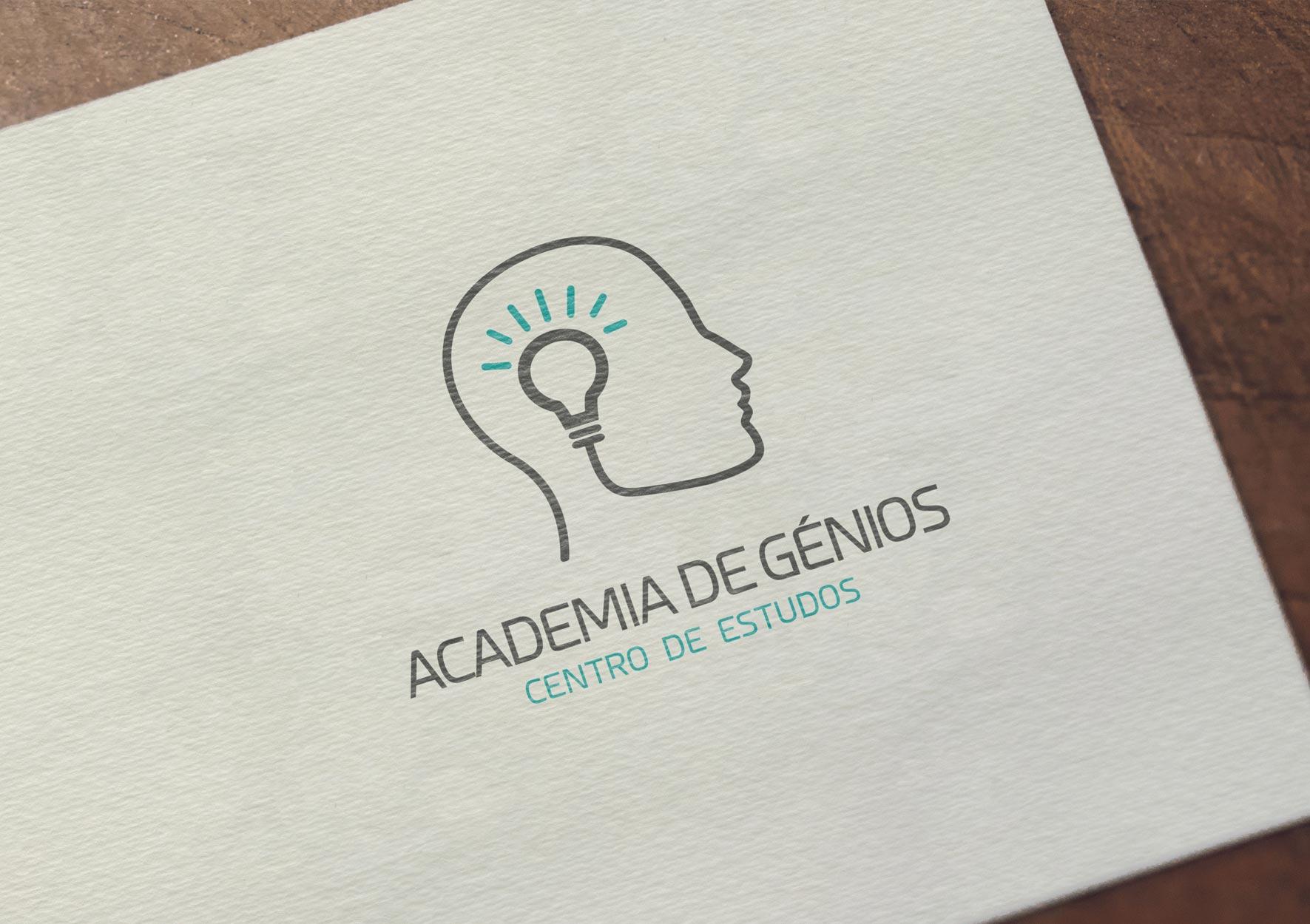 Academia de Génios - portfolio d-sign Ana Cláudia