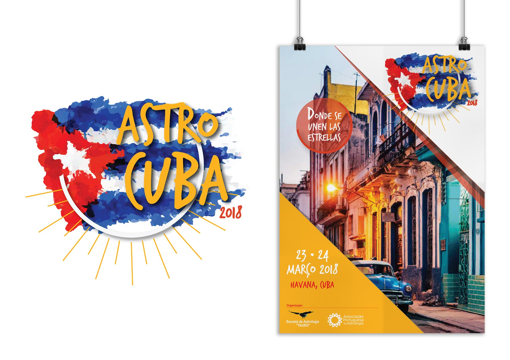 AstroCuba 2018 - portfolio d-sign Ana Cláudia