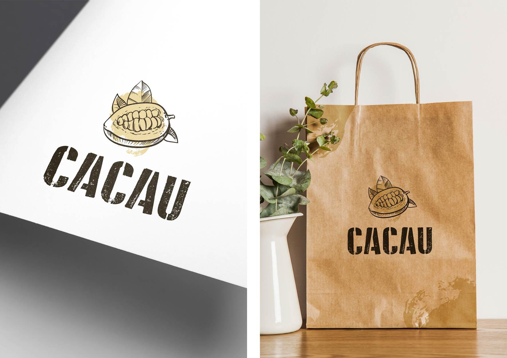 CACAU - portfolio Design Ana Cláudia - Branding Studio