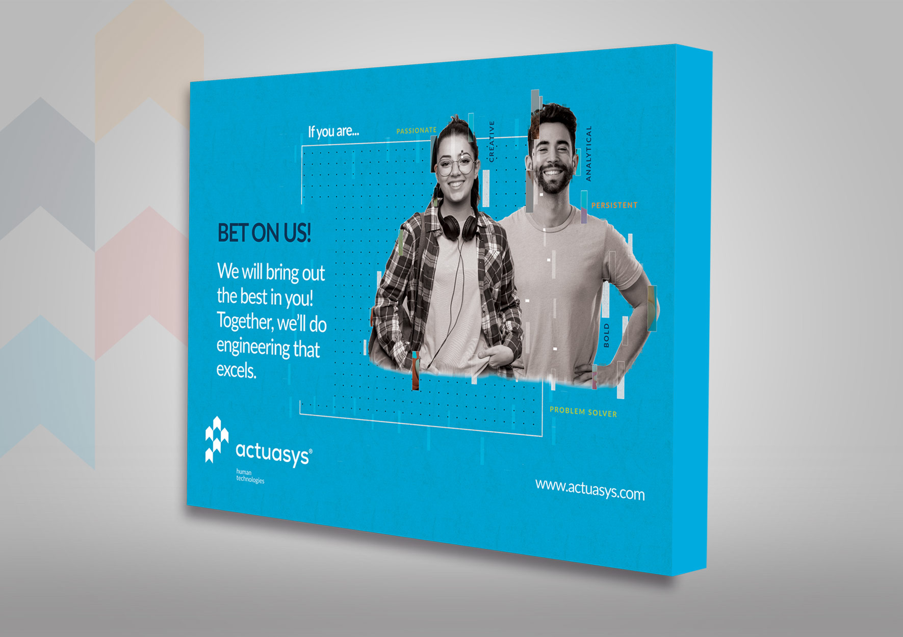actuasys Stand - portfolio Design Ana Cláudia - Branding Studio