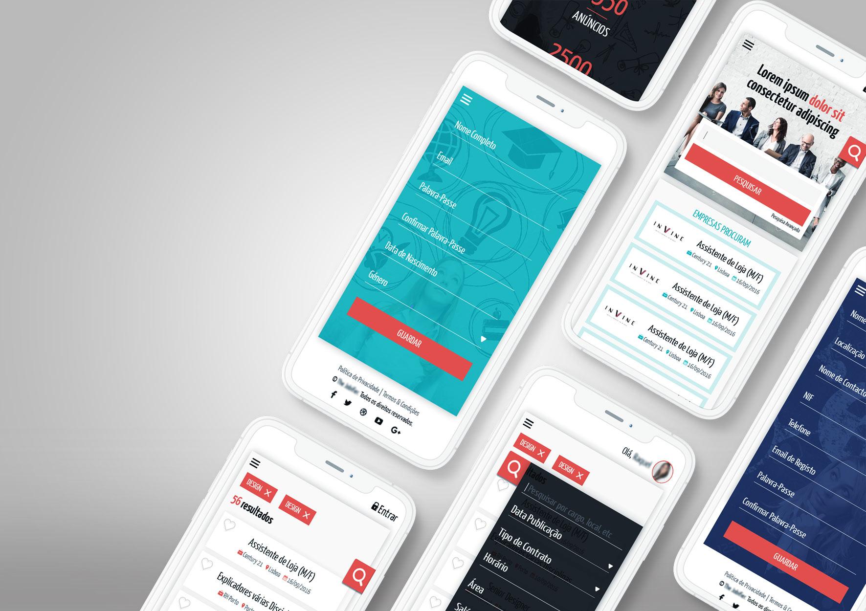 Desenvolvimento Interfaces- portfolio Design Ana Cláudia - Branding Studio